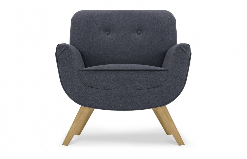 Fauteuil anthracite