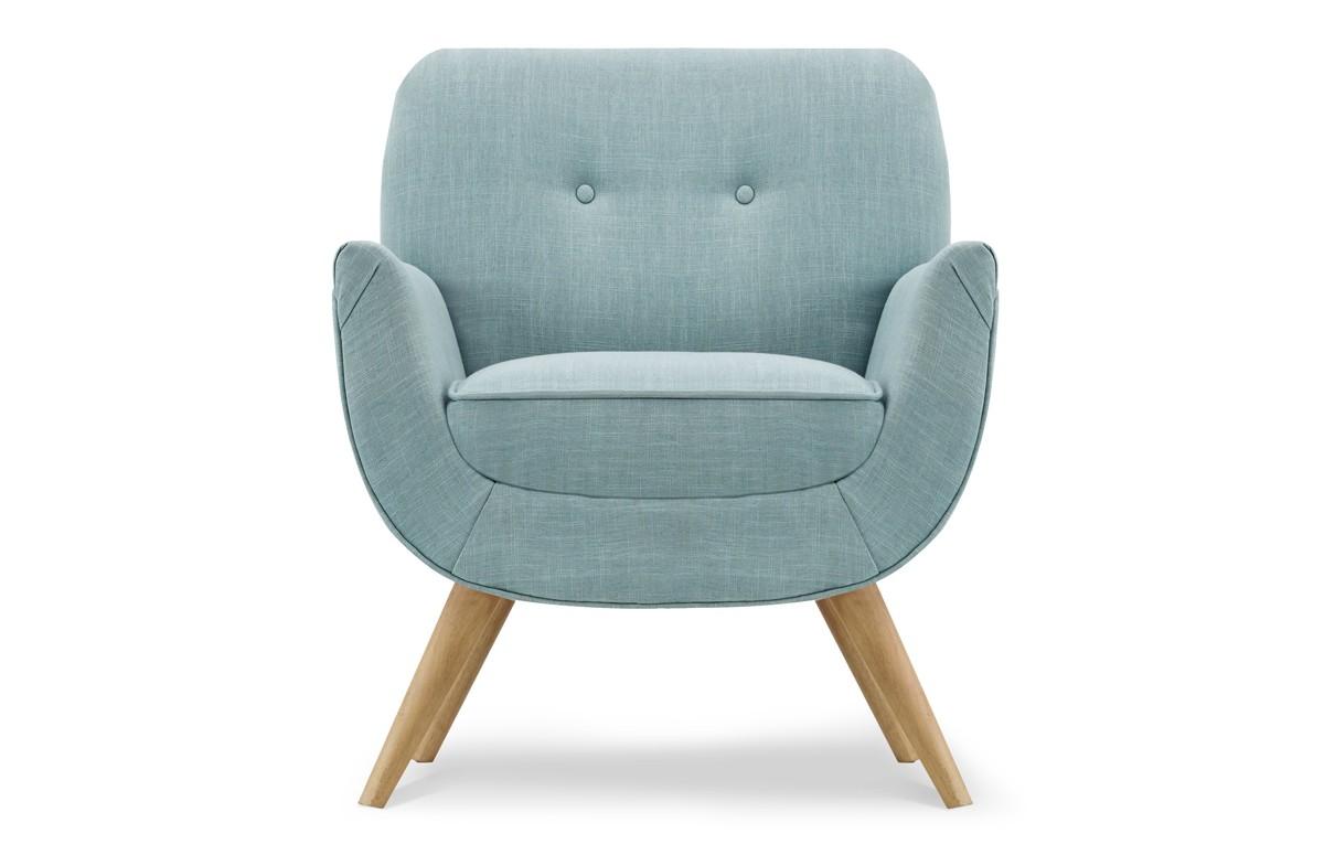 fauteuil retro bleu table de lit. Black Bedroom Furniture Sets. Home Design Ideas