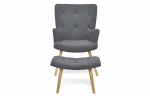 Fauteuil Fargo anthracite