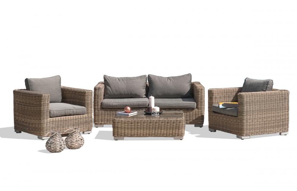 salon de jardin 4 places pi ce vivre. Black Bedroom Furniture Sets. Home Design Ideas