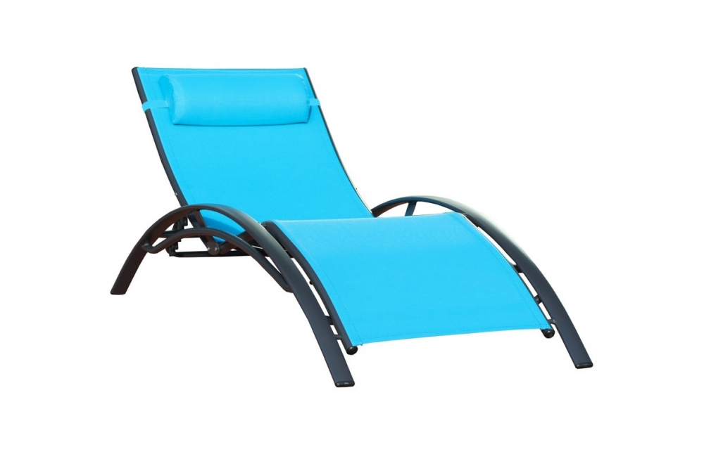 chaise longue turquoise pi ce vivre. Black Bedroom Furniture Sets. Home Design Ideas