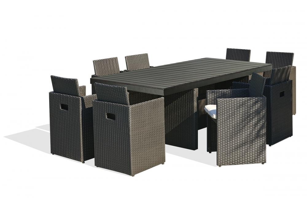 salon de jardin composite. Black Bedroom Furniture Sets. Home Design Ideas