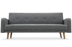 Canapé convertible scandinave gris LAARS