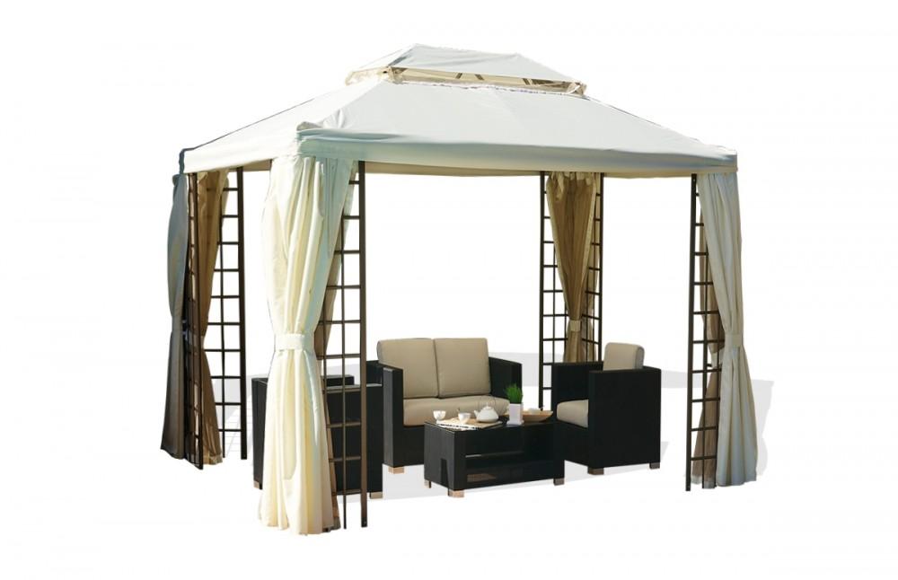 tonnelle pliante avec rideaux tonnelle pliante 3x4m crue avec rideaux plantes et jardins. Black Bedroom Furniture Sets. Home Design Ideas
