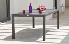 Table aluminium plateau duranite
