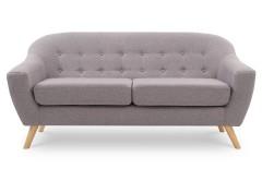 Canapé scandinave gris cendré