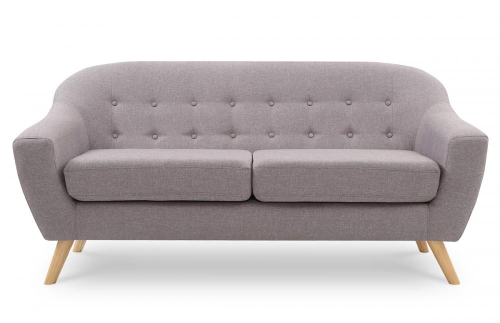 canap scandinave gris cendr pi ce vivre. Black Bedroom Furniture Sets. Home Design Ideas