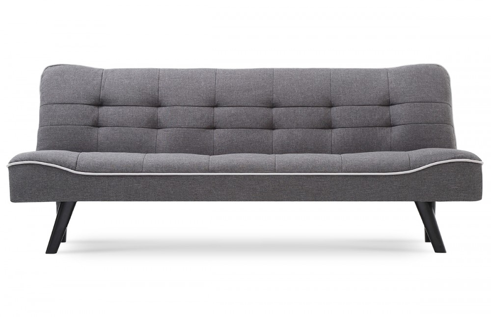 Canapé lit design scandinave gris - Pièce à Vivre