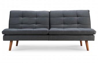 Canapé convertible scandinave gris