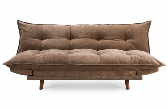 Canapé convertible design scandinave choco