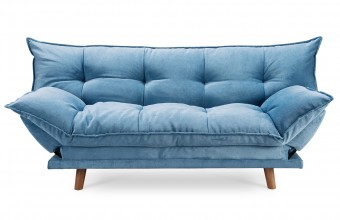 Clic clac confortable design scandinave bleu
