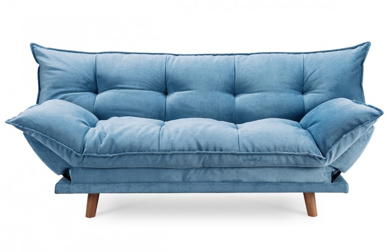 canap convertible design scandinave bleu - Canape Confortable Design