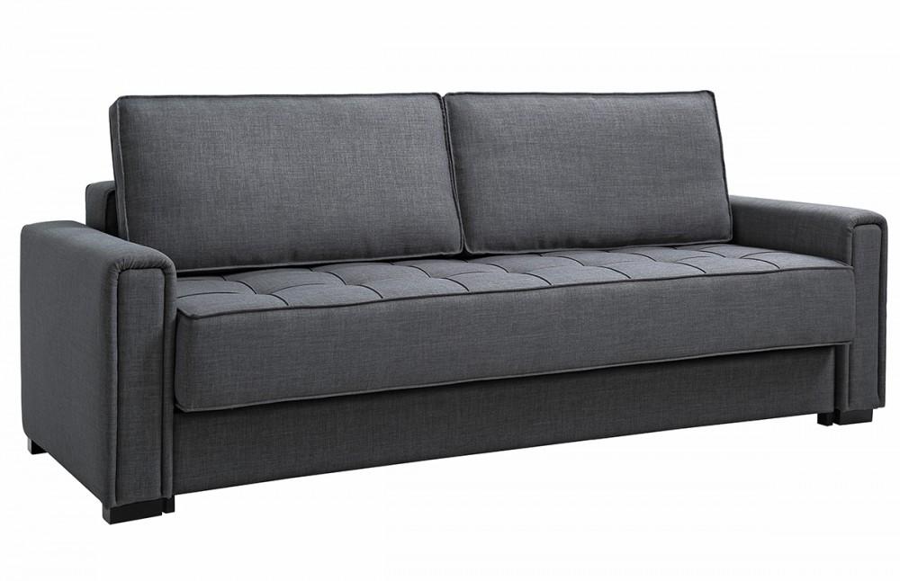 canap convertible noir design icare pi ce vivre. Black Bedroom Furniture Sets. Home Design Ideas