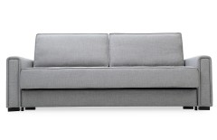 Canapé convertible gris design icare
