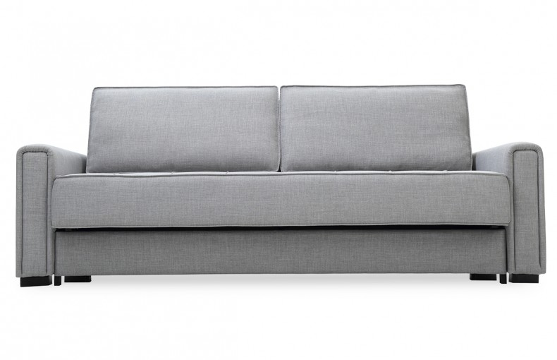 Canapé convertible gris anthracite design scandinave