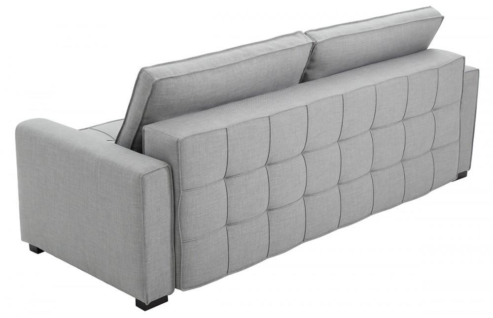 Canapé convertible gris design icare - Pièce à Vivre
