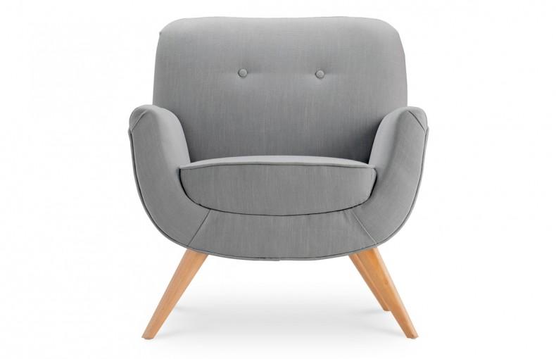 fauteuil tissu gris - Fauteuil En Tissu