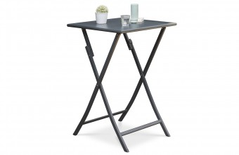 Table haute de bar ANTHRACITE