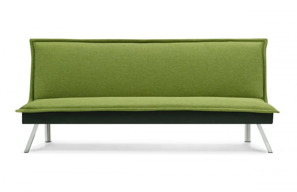 banquette clic clac design vert citrus pieds chrom s. Black Bedroom Furniture Sets. Home Design Ideas