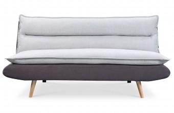 Canapé convertible design scandinave gris