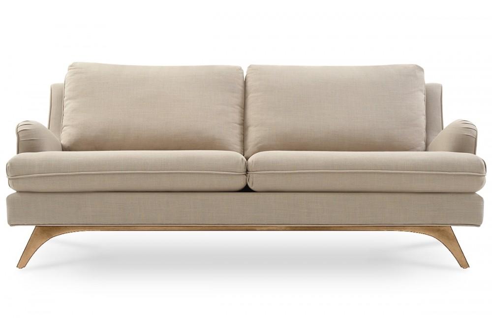 canap 3 places en lin beige pi ce vivre. Black Bedroom Furniture Sets. Home Design Ideas
