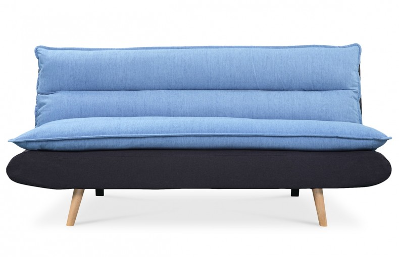 canap convertible scandinave bleu et noir pi ce vivre. Black Bedroom Furniture Sets. Home Design Ideas