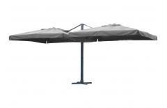 Double parasol 3x3 mètres