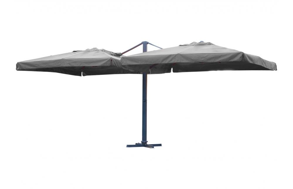 double parasol 3x3 m tres pi ce vivre. Black Bedroom Furniture Sets. Home Design Ideas
