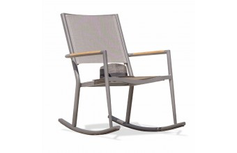 Rocking-chair de jardin HONFLEUR