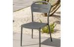 Chaise de jardin MADELIA aluminium