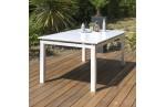 Set de jardin en aluminium 6 places, Mykonos