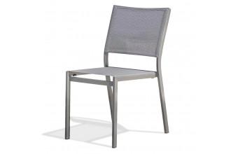 Chaise de jardin STOCKHOLM alu empilable