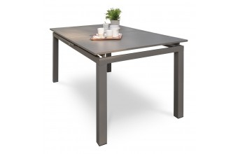 Table de jardin en aluminium 8-10 places, Zahara