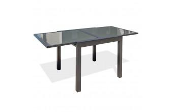 Table de jardin en aluminium 4/6 personnes, Tolede