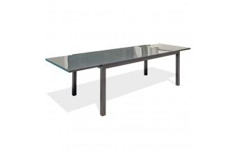Table de jardin en aluminium 8/10 personnes, Tolede