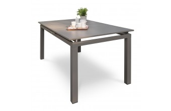 Table de jardin en aluminium 10-12 places, Zahara