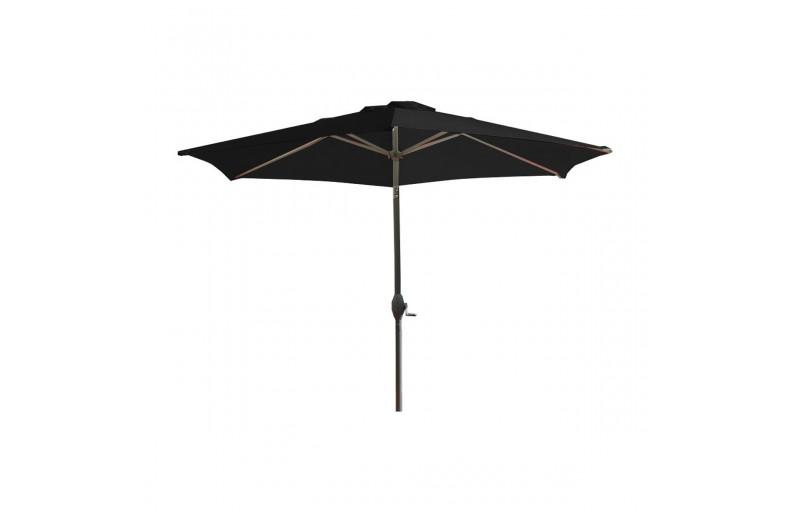 Parasol à manivelle 270 cm en aluminium