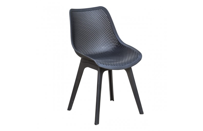Chaise SCANDI en pvc perforé