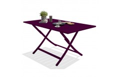 Table de jardin en aluminium, Marius