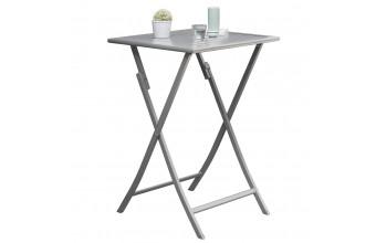 Table haute en aluminium, Marius