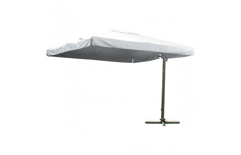 Parasol aluminium et polyester excentré, Almeria