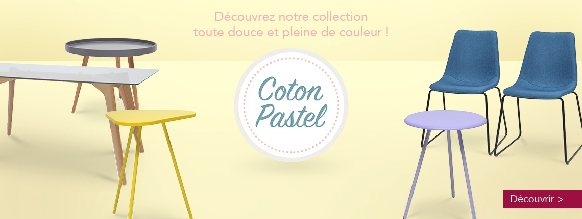 New collection Coton pastel